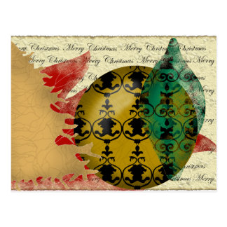 Navidad-collage Tarjeta Postal