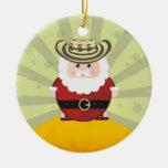 navidad colombiano adorno navideño redondo de cerámica