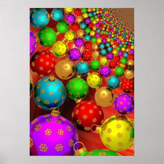 Navidad colorido posters