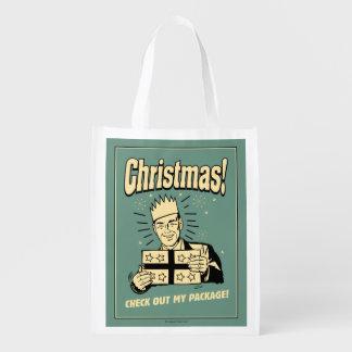 Navidad: Compruebe hacia fuera mi paquete Bolsa Para La Compra