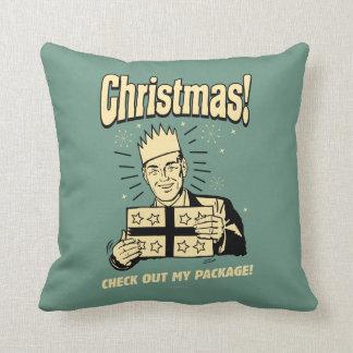 Navidad: Compruebe hacia fuera mi paquete Cojines