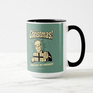 Navidad: Compruebe hacia fuera mi paquete Taza
