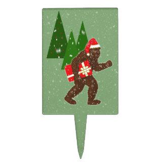"""""""Navidad con Bigfoot"""" Decoración Para Tarta"""