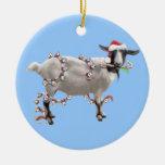 Navidad con Jada la cabra Adorno