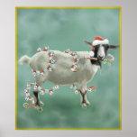Navidad con Jada la cabra Posters