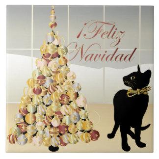 Navidad con la teja del español de Bella