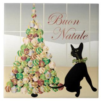 Navidad con la teja del italiano de Bella