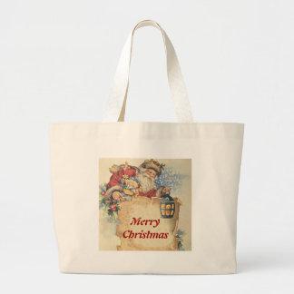 Navidad con Papá Noel. Artículos adaptables Bolsas De Mano