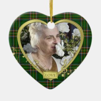 Navidad conmemorativo de la foto del corazón del t