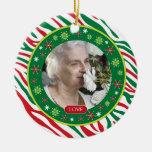 Navidad conmemorativo de la foto del estampado de