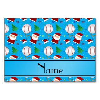 Navidad conocido personalizado del béisbol del