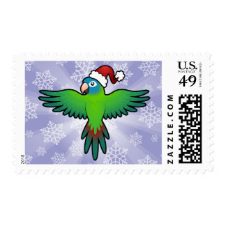 Navidad Conure/Lorikeet/loro Sellos Postales