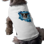 Navidad - copo de nieve azul - Boston y rata Terri Camisas De Perritos