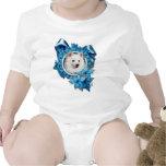 Navidad - copo de nieve azul - esquimal americano traje de bebé