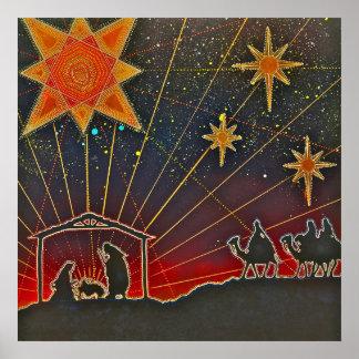 Navidad cósmico posters