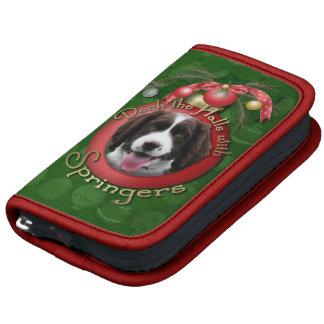 Navidad - cubierta el perro de aguas de saltador planificadores