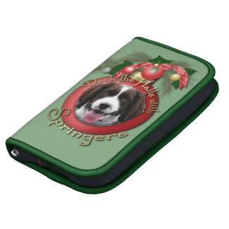 Navidad - cubierta el perro de aguas de saltador organizadores