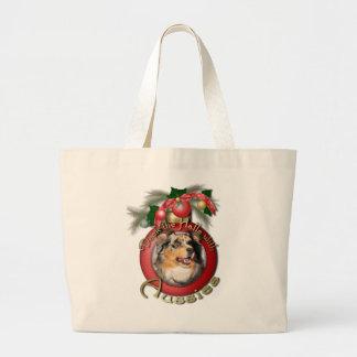 Navidad - cubierta los pasillos - Aussie - Gustine Bolsas Lienzo