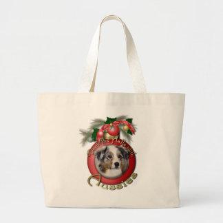 Navidad - cubierta los pasillos - australianos bolsas de mano