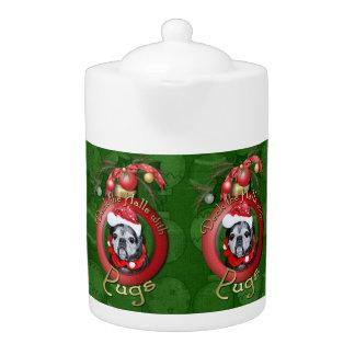 Navidad - cubierta los pasillos - barros amasados