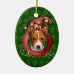 Navidad - cubierta los pasillos - Basenjis Ornamentos Para Reyes Magos