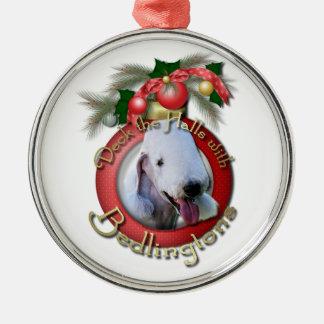 Navidad - cubierta los pasillos - Bedlingtons Ornamento De Navidad