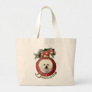 Navidad - cubierta los pasillos - Bichons Bolsa