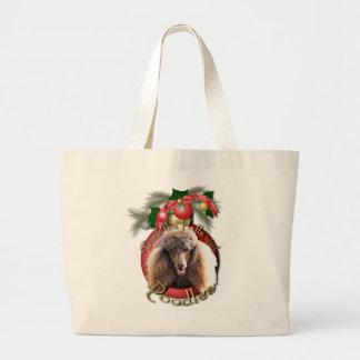 Navidad - cubierta los pasillos - caniches - choco bolsa