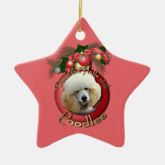 Navidad - cubierta los pasillos - caniches - ornaments para arbol de navidad