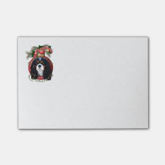Navidad - cubierta los pasillos - Cavaliers - Notas Post-it