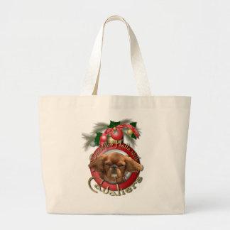 Navidad - cubierta los pasillos - Cavaliers - rubí Bolsa