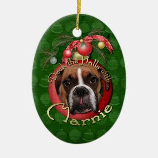 Navidad - cubierta los pasillos con Marnie