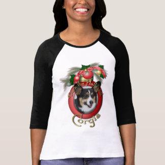 Navidad - cubierta los pasillos - Corgis Camiseta