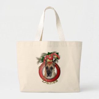 Navidad - cubierta los pasillos - daneses bolsas de mano