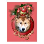 Navidad - cubierta los pasillos - Dingos Postal