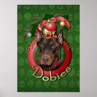 Navidad - cubierta los pasillos - Dobies - Rocky Impresiones