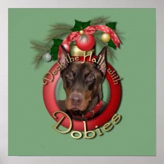 Navidad - cubierta los pasillos - Dobies - Rocky Poster