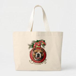 Navidad - cubierta los pasillos - dogos bolsa