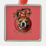 Navidad - cubierta los pasillos - dogos ornamente de reyes