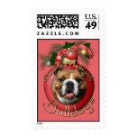 Navidad - cubierta los pasillos - dogos sellos