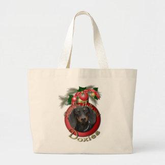 Navidad - cubierta los pasillos - Doxies - Winston Bolsa De Mano