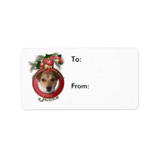 Navidad - cubierta los pasillos - enchufes etiqueta de dirección