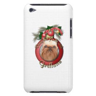 Navidad - cubierta los pasillos - Griffons iPod Case-Mate Carcasas