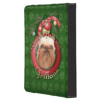 Navidad - cubierta los pasillos - Griffons Funda Para Kindle Touch