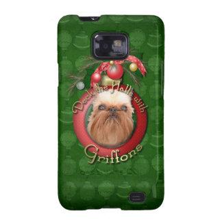 Navidad - cubierta los pasillos - Griffons Galaxy S2 Funda