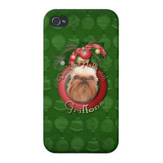 Navidad - cubierta los pasillos - Griffons iPhone 4 Protector