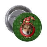 Navidad - cubierta los pasillos - Jack Russell Pins