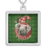 Navidad - cubierta los pasillos - koalas colgantes