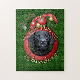Navidad - cubierta los pasillos - Labradors - Puzzle