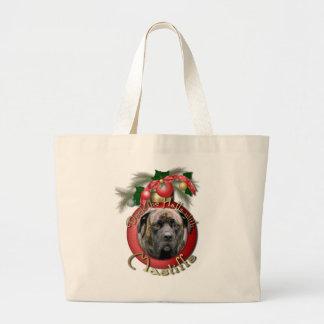 Navidad - cubierta los pasillos - mastines - cicló bolsa
